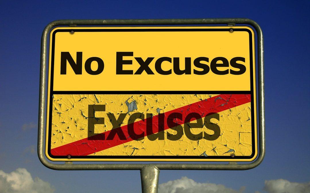 Cómo dejar de poner excusas y empezar a decir lo que realmente quieres